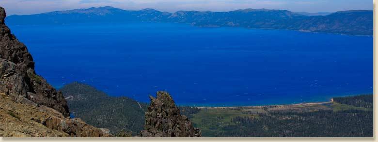 Laket Tahoe from Mountain Tallac